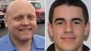 Michael Chiapperini (left) and Tomasz Kaczowka (right) were shot and killed in the line of duty on December 24, 2012 in Webster.