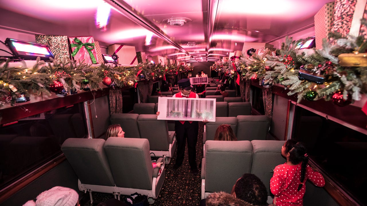 Take a trip on the Polar Express, departing this month in New Jersey.