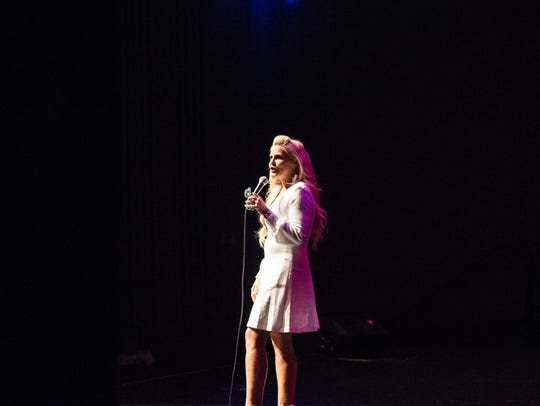 Amy Speropoulos at the I am Every Woman Leadership Conference.