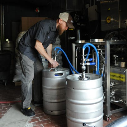 Keith Jackson, owner and brewmaster of Combustion Brewery