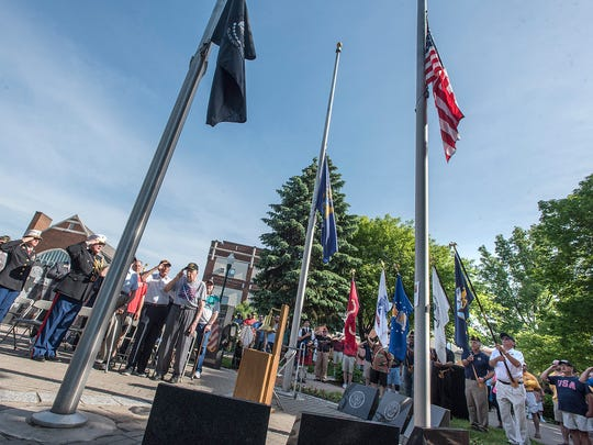 Plymouth Memorial Day Ceremony.