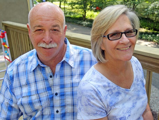 Jeff and  Barbara Cicio, photographed at their home