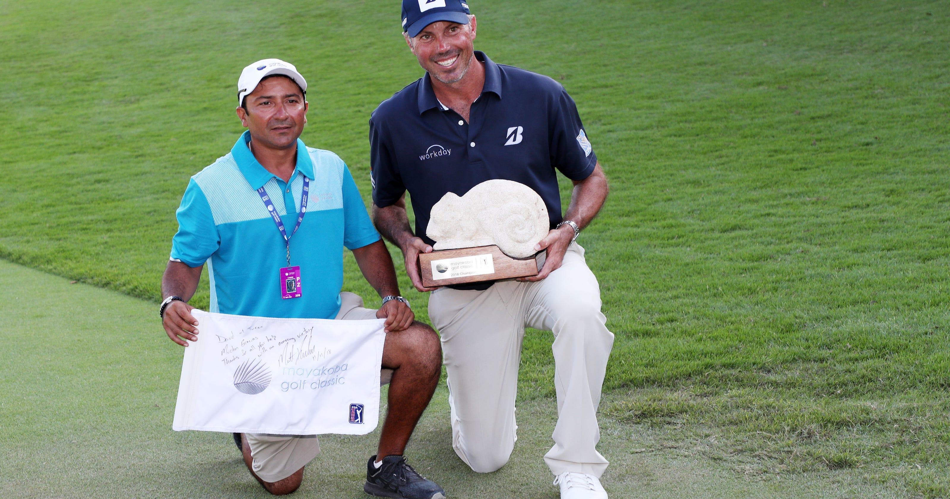 PGA Tour's Matt Kuchar is the new face of cheapness