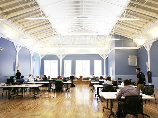 Union Hall in Over-the-Rhine is a hub of innovation,