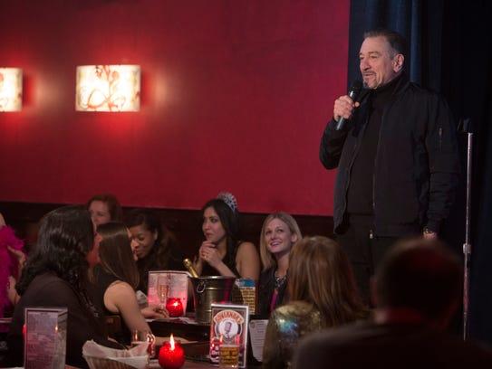Robert De Niro stars as a veteran stand-up in the new
