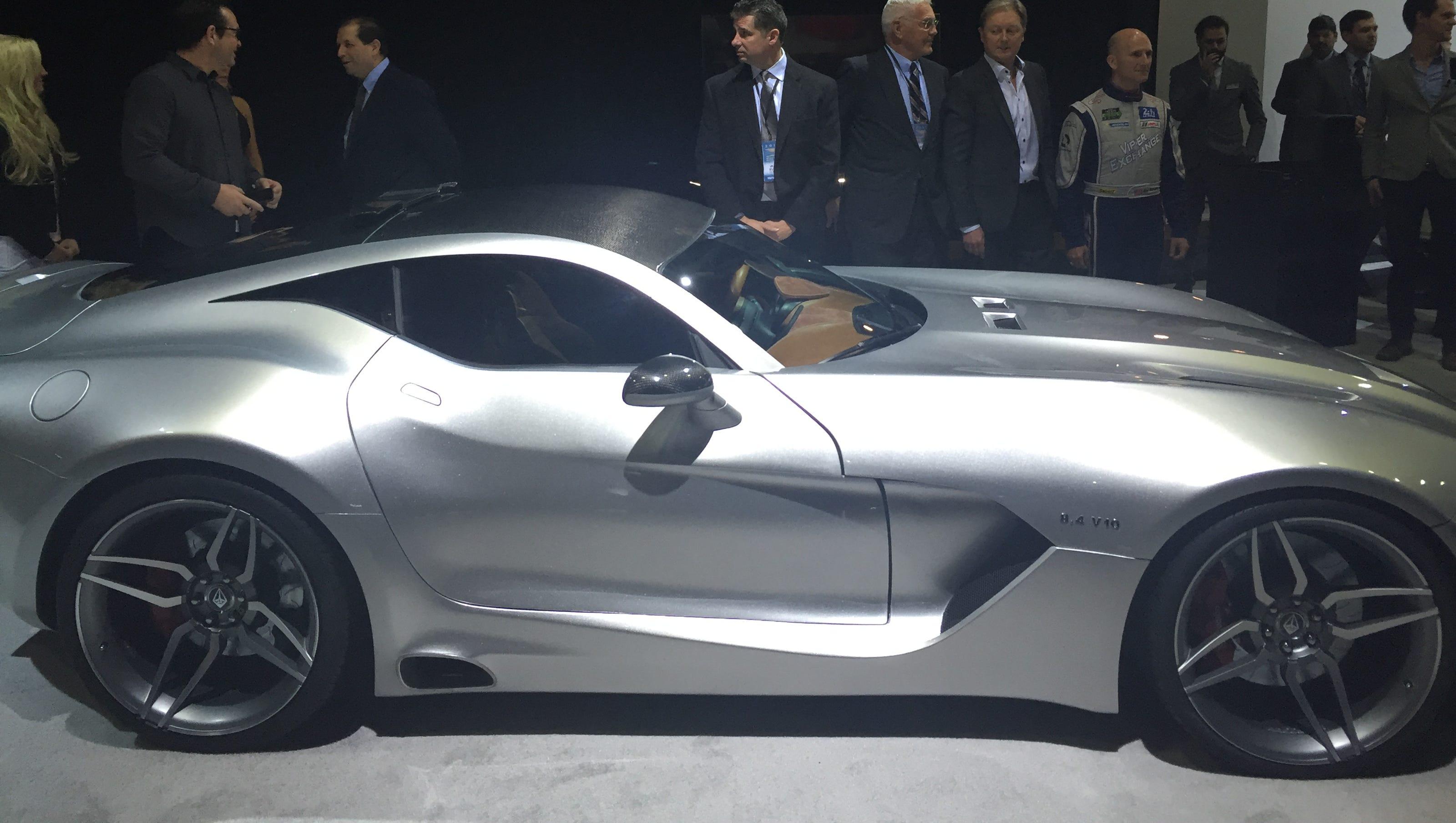 Vlf Automotive Force 1 >> Henrik Fisker launches Force 1 'super car' despite Aston Martin threats