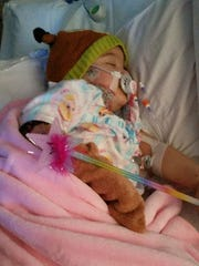 Ellie's mom shared regular updates with the world as they prayed for her healing.