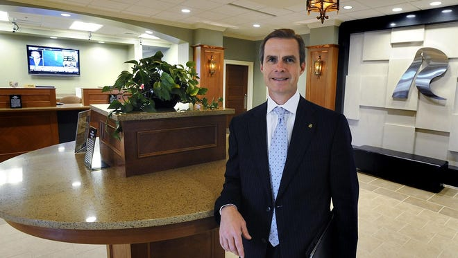 Jimmy Stubbs is president and CEO of River Bank & Trust.