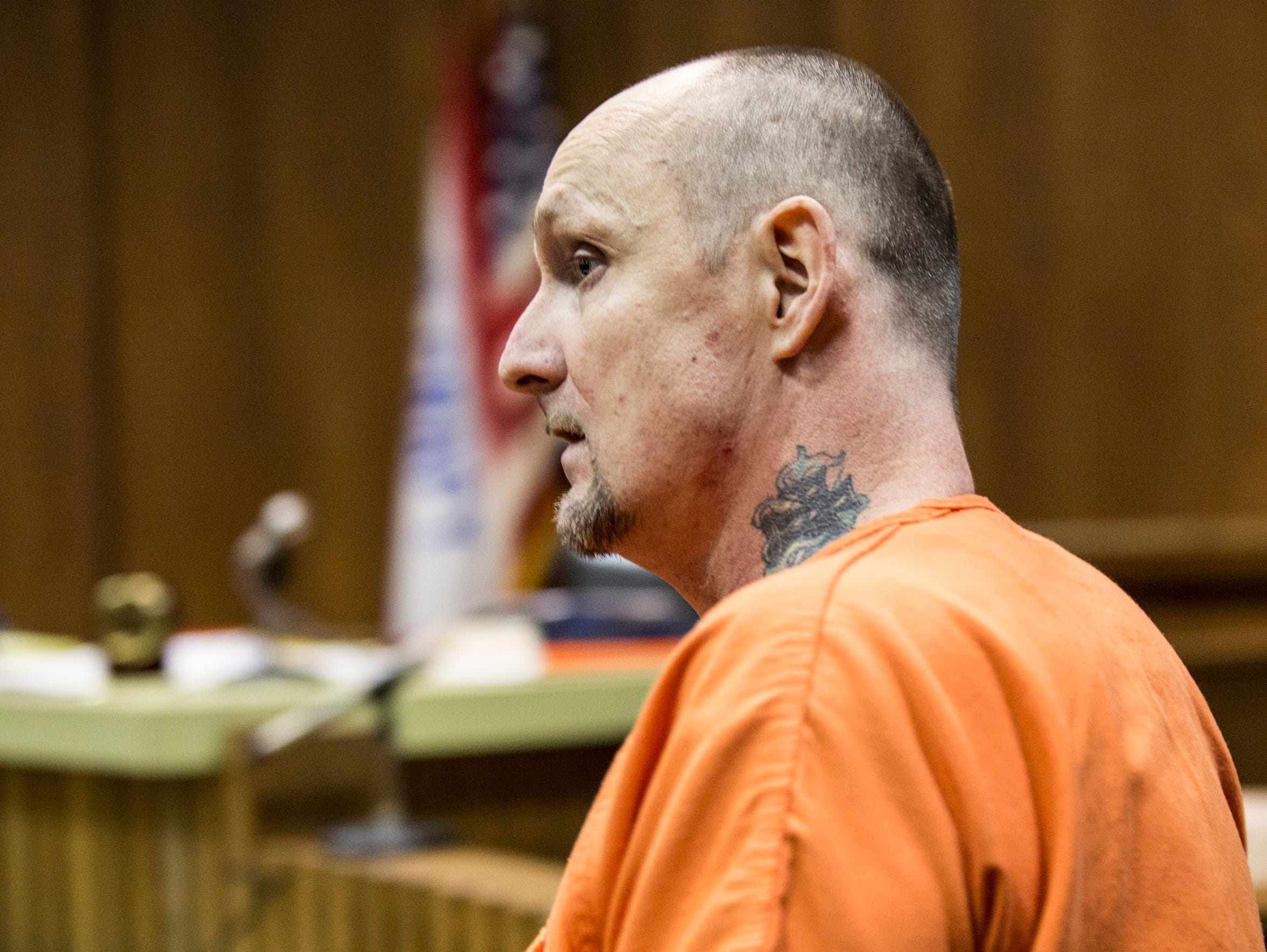 Garry Cordell, 47, during a court appearance on Monday,