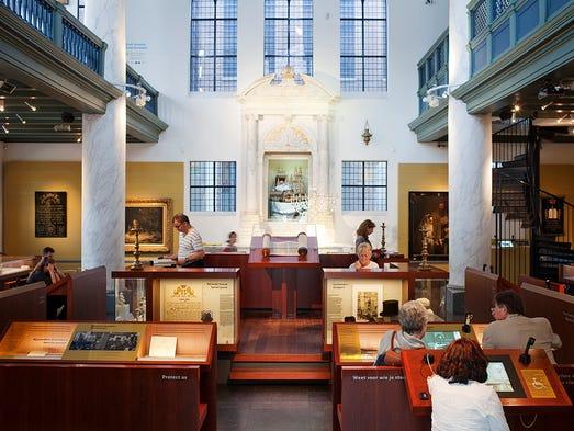 Amsterdam's Jewish cultural quarter links key sites