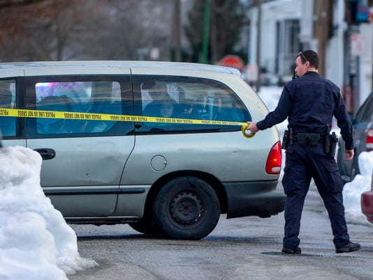 PHOTOS: Police investigate shots fire on W. King