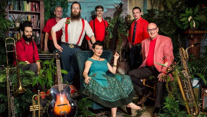 The Bumper Jacksons bring their roots jazz to Naples Friday.