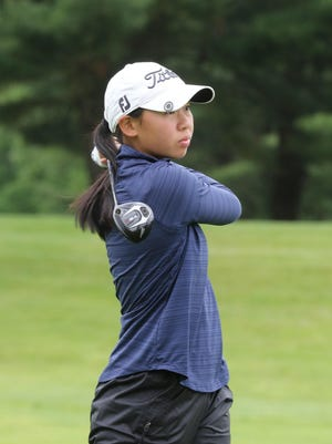 Two-time RIIL Girls Golf Champion Allison Paik continued her hot start to the summer at the North-South Amateur at Pinehurst Monday.