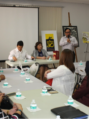 Consul Mark Francis C. Hamoy facilitates the open forum