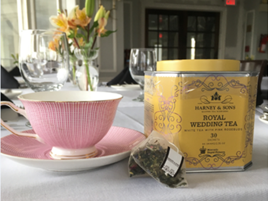 Royal Wedding tea was recently served at University and Whist Club of Wilmington.