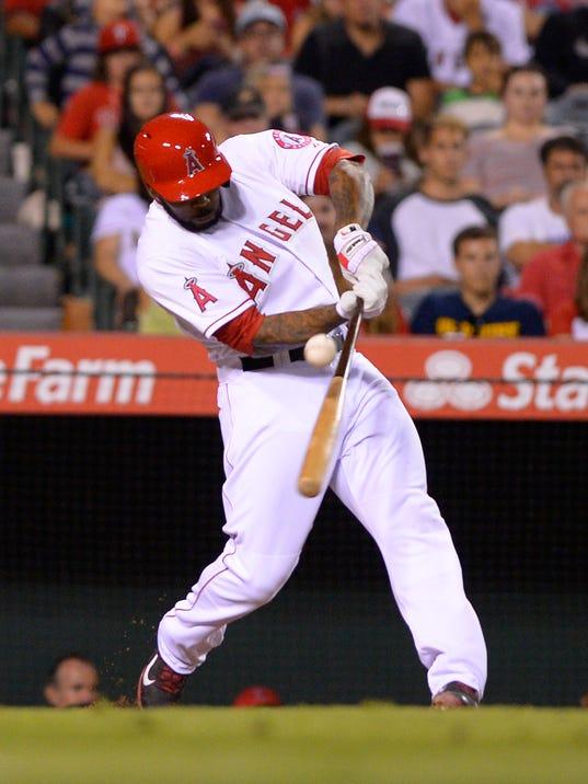 Phillies Angels Baseball
