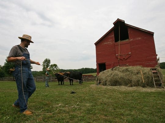 Howell Living History Farm presents remnants of early 1900s farming.