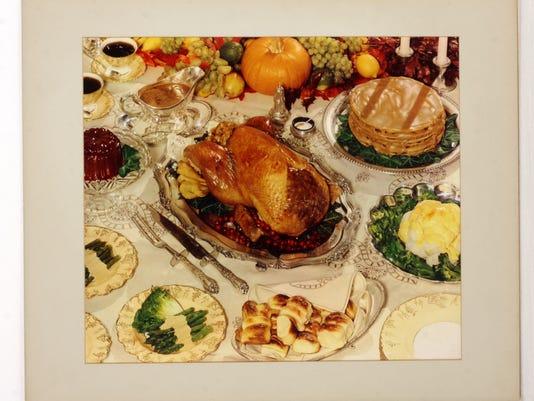 1948 Thanksgiving feast HHD.jpg