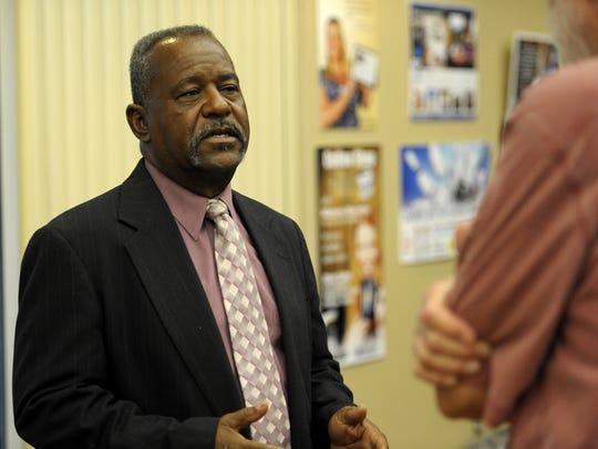 Lafayette Parish School Board member Elroy Broussard,