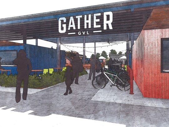 Gather GVL planned for 126 Augusta Street.