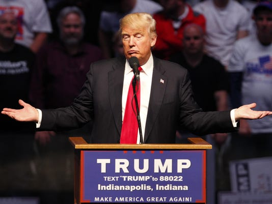 Donald Trump Holds Rally With Former Basketball Coach Bobby Knight