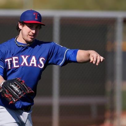 MLB: Texas Rangers-Workout