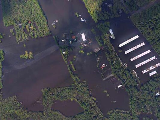 Tropical Weather Toxic Sites