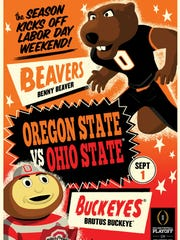 This Marvel Comics cover for ESPN looks at Ohio State's