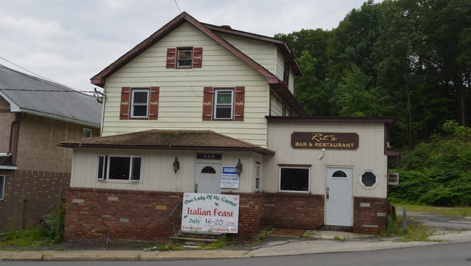 The building at 300 Bleakley Ave. in Buchannan, across from the gates to Indian Point Energy Center, went for $30,000.