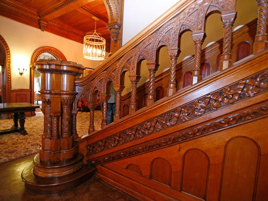 staircase carving