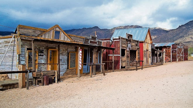 Founded in the 1860s as a silver mining town, Chloride has almost 400 residents.