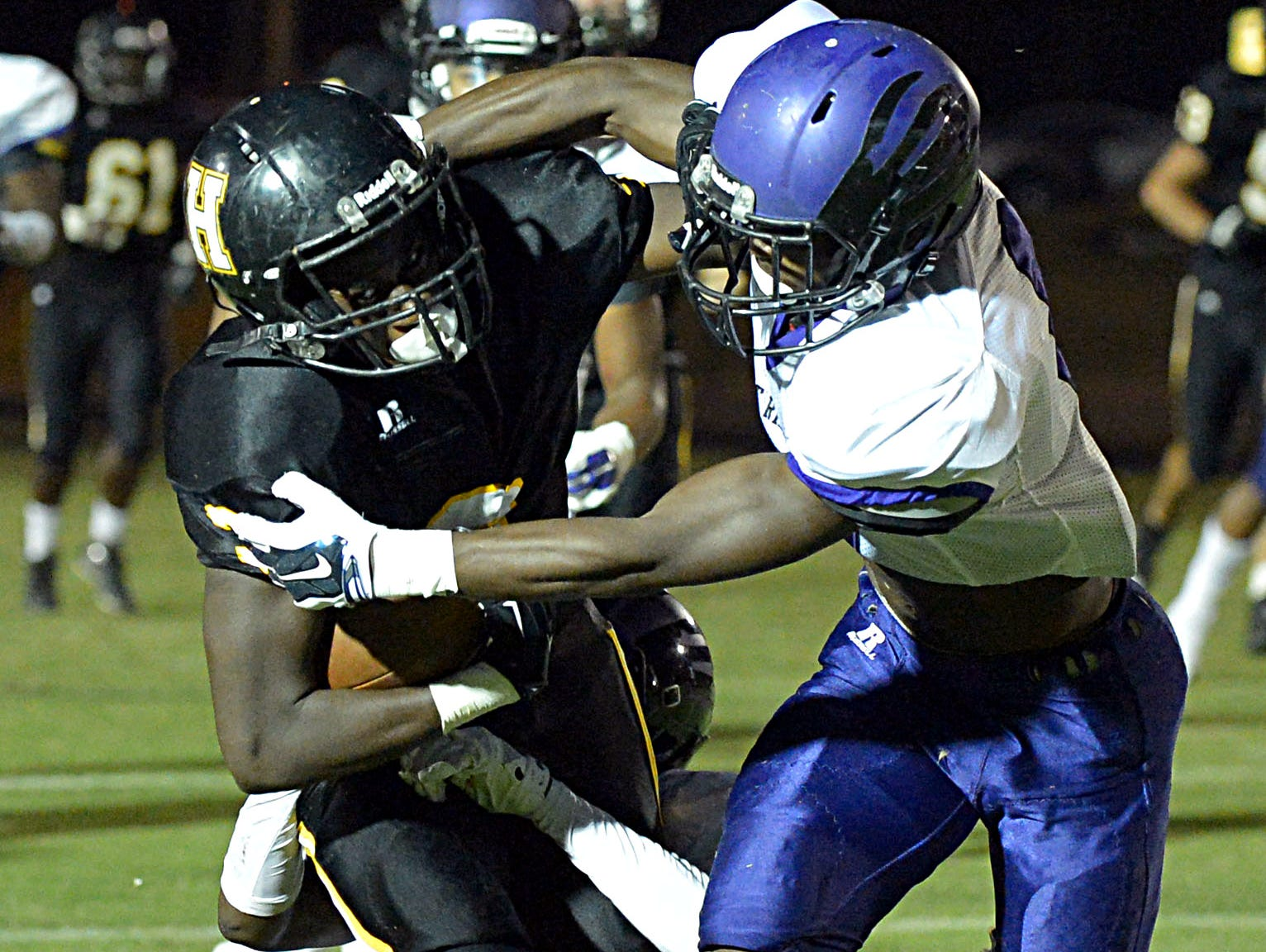 Hendersonville junior Anthony Hughes and the Commandos travel to Cane Ridge for an early-season Region 6-5A showdown.
