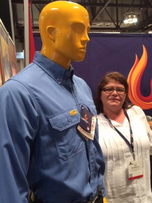 Lani Boudreaux of LAPCO, which makes flame-resistant clothing, said she'll seek more booth space at LAGCOE 2017.