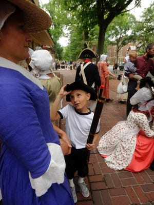 Children ages 8 to 15 can learn what it takes to be an 18th-century town crier as they Indian King Tavern offers 'Town Crier University' Sunday.