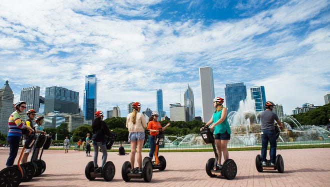 Absolutely Chicago Segway Tours provides a fun way to see the city.