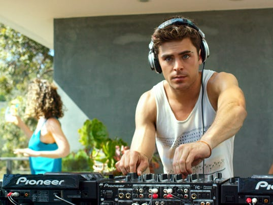 """Zac Efron in a scene from Warner Bros. Pictures' and Studiocanal's romantic drama, """"We are Your Friends."""""""