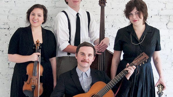 Bill and the Belles play a double header with Folk
