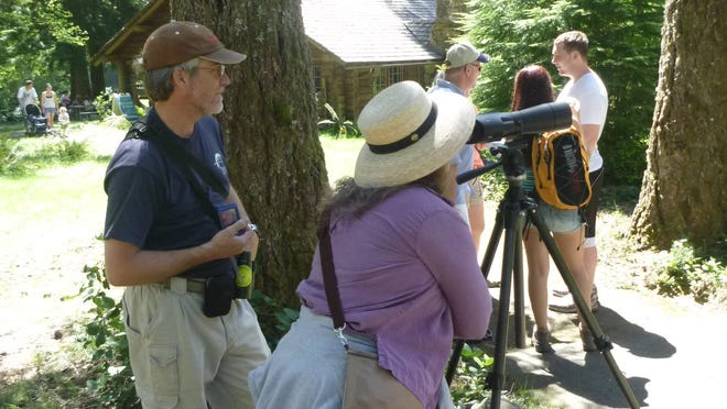 Learn about native plants, wildflowers, and birds at at the Silver Falls Mother's Day Birding and Wildflower Festival this weekend.