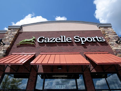 The new Gazelle Sports store seen on Wednesday, Aug.