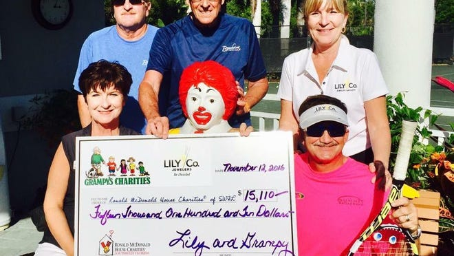 Grampy's Charities joined Dan Schuyler's team from Lily & Company Jewelers to support a Ronald McDonald Care Mobile.