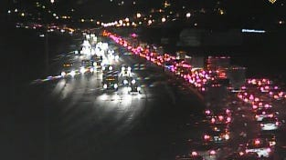 Traffic backed up through Cut-in-the-Hill to Kyles Lane in Northern Kentucky from crash at Fifth Street on NB I-75.