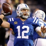 Andrew Luck says he's making progress, but won't rush anything