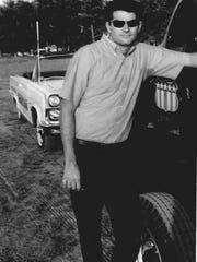 Burlington entrepreneur Jack DuBrul, posing with his
