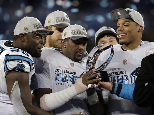 NFL: NFC Championship-Arizona Cardinals at Carolina Panthers