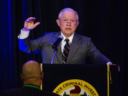 "U.S. Attorney General Jeff Sessions on Monday defended the Trump administration's ""zero-tolerance"" immigration policy, telling sheriffs in New Orleans that it was installed to prosecute ""adults who flaunt our laws"" by crossing the border illegally."