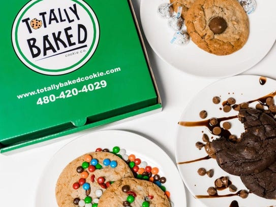 Totally Baked Cookie Co-- CONTACTO: 480-420-4024, www.totallybakedcookie.com