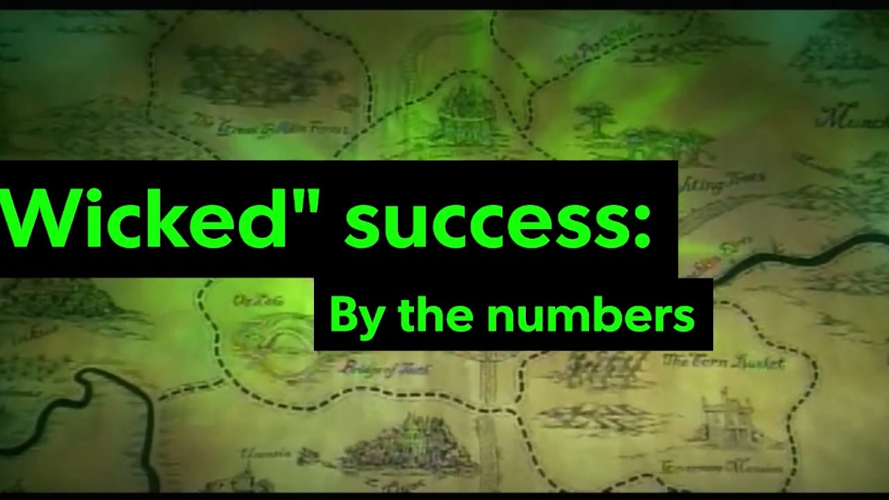 "A look at some key numbers from the successful run of the Broadway blockbuster ""Wicked."" Video footage courtesy of ""Wicked."""