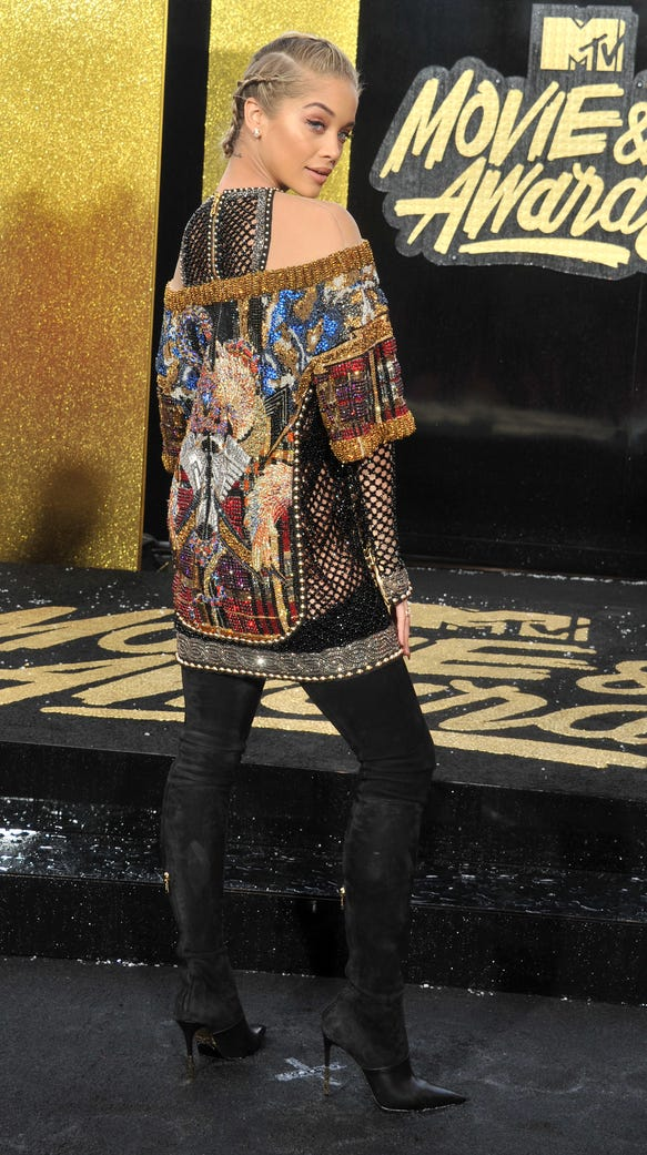 Are hip-high boots the new thigh-highs? These celebrities ...