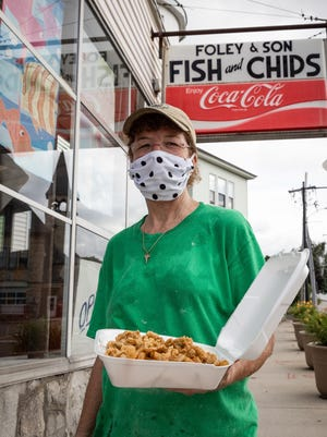 Patti Foley is the owner of Foley & Son Fish and Chips on Plantation Street in Worcester.