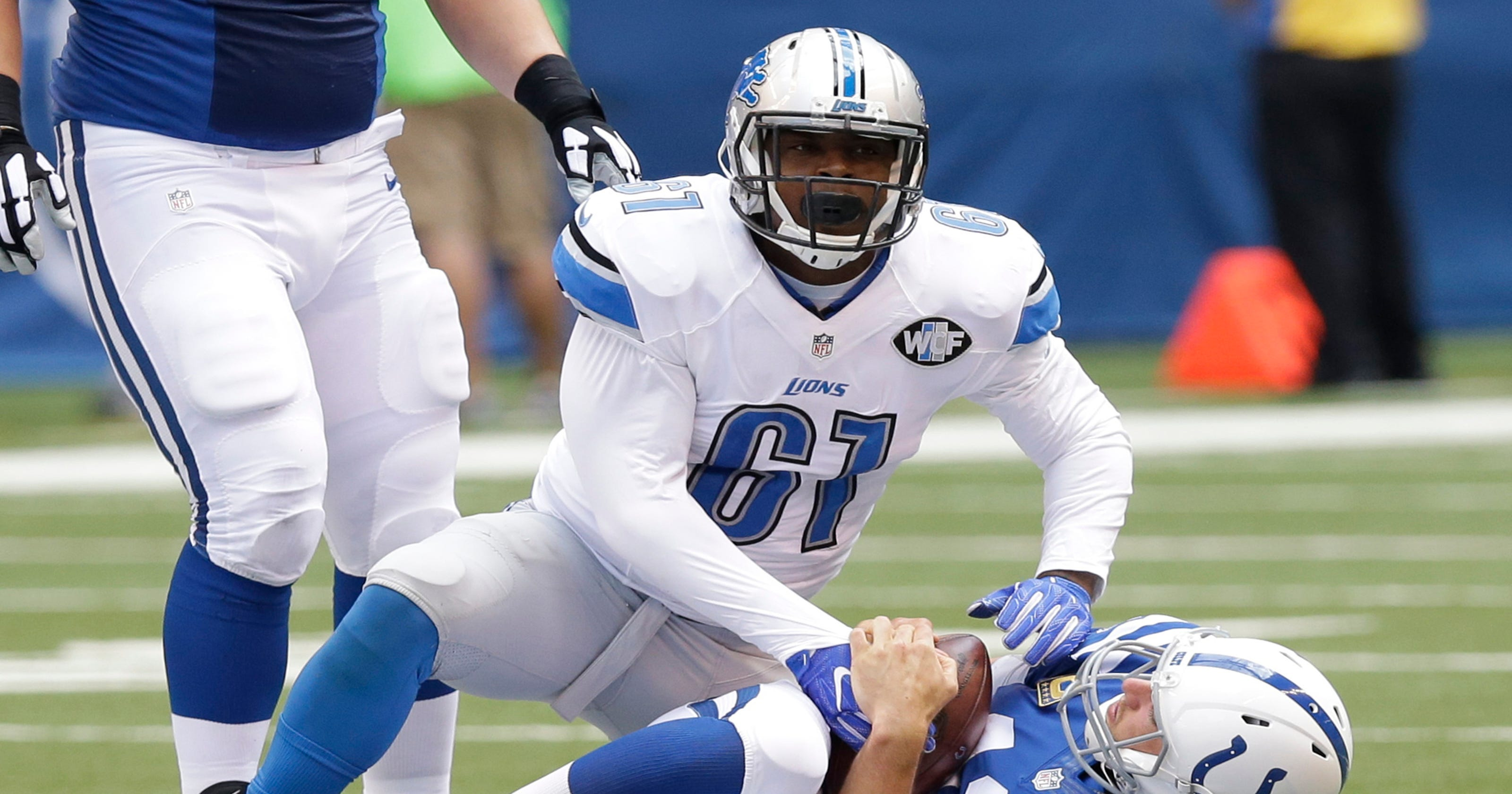 Kerry Hyder's journey to Detroit Lions roster wasn't easy